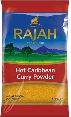 CARIBBEAN  CURRY POWDER - HOT image