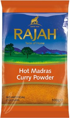 MADRAS CURRY POWDER - HOT image