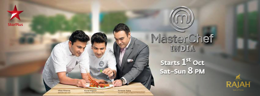 Rajah Sponsors Masterchef India on Star Plus image