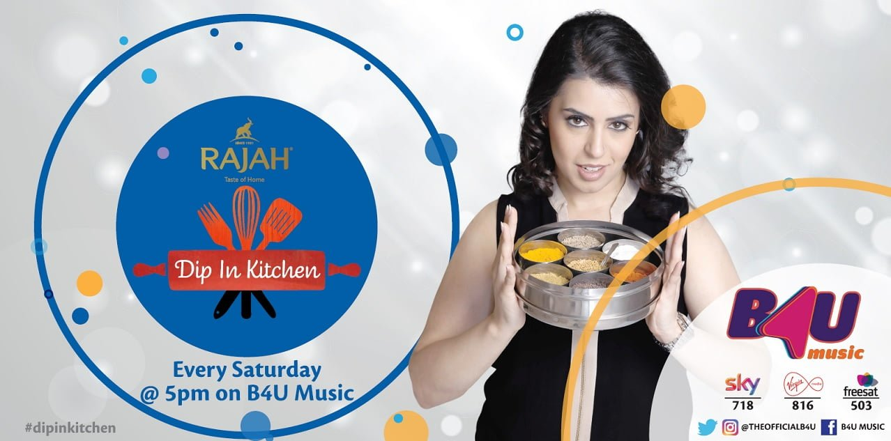 Rajah Presents Dip In Kitchen on B4U Music image
