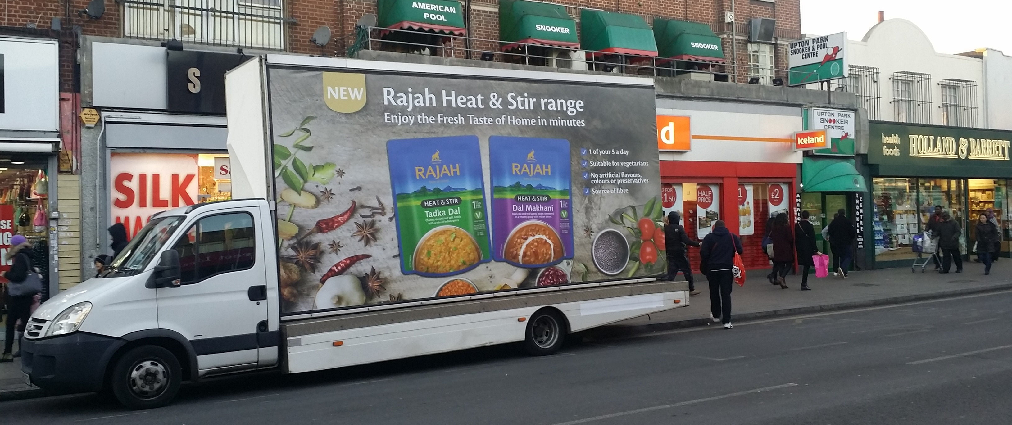 Rajah Heat & Stir are coming to Manchester this weekend! image