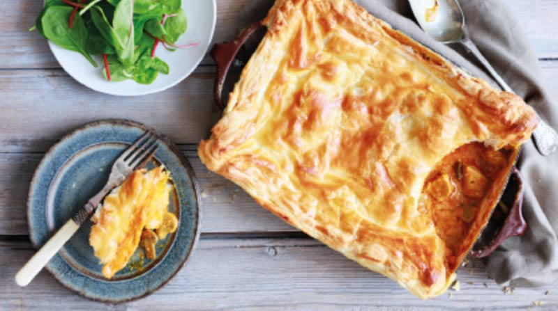 Chicken Makhani Pie image