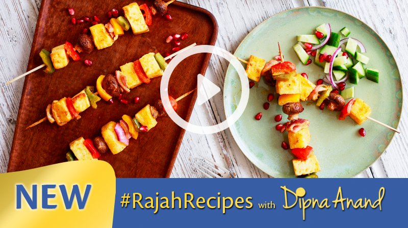 Veg Shashlik Pineapple Skewers image