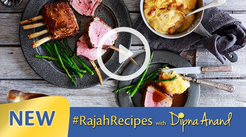 Rajah Rack of Lamb with Masala Mash image