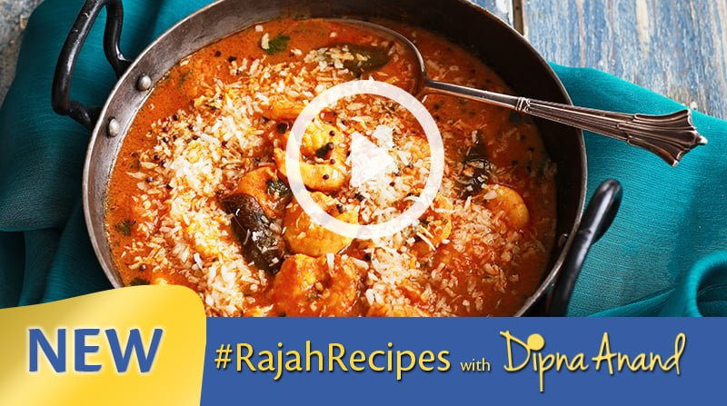 Rajah Recipes: South Indian Prawn Curry image
